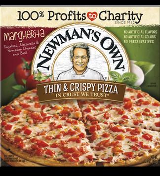 Newman's Own All Natural Organic Thin & Crispy Margherita Pizza