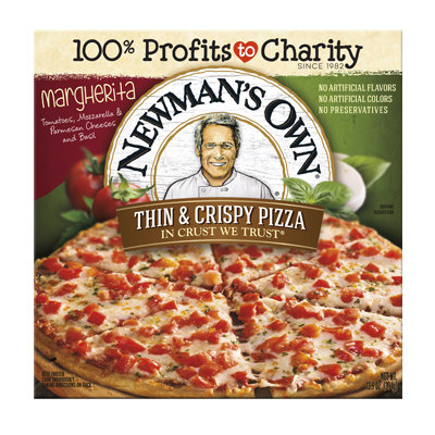 Newman's Own All Natural Organic Thin & Crispy Margherita Pizza