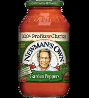 Newman's Own All Natural Garden Peppers Pasta Sauce