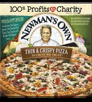 Newman's Own Mediterranean Thin & Crispy Pizza
