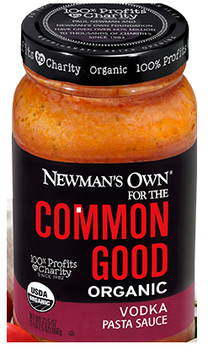 Newman's Own For The Common Good Organic Vodka Pasta Sauce