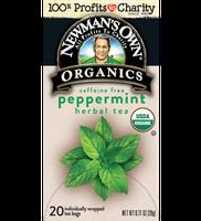 Newman's Own Organic Peppermint Herbal Tea