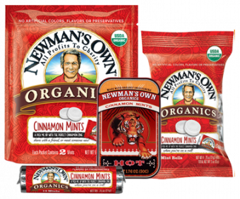 Newman's Own Organics Cinnamon Hot Mints
