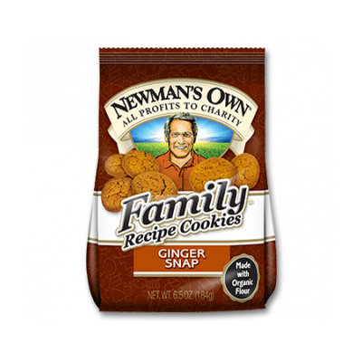 Newman's Own Organic Family Recipe Cookies Ginger Snap