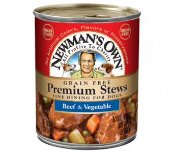 Newman's Own Grain Free Beef & Vegetable Stew For Dog