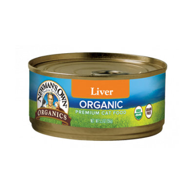 Newman's Own Organics Liver Canned Cat Food