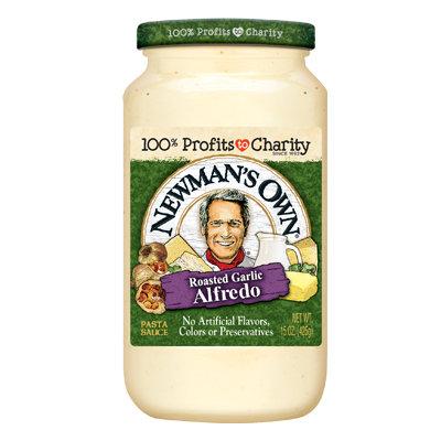 Newman's Own Roasted Garlic Alfredo Pasta Sauce