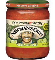 Newman's Own Mild Tequila Lime Salsa