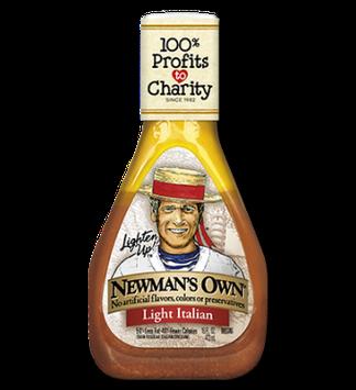 Newman's Own Light Italian Salad Dressing