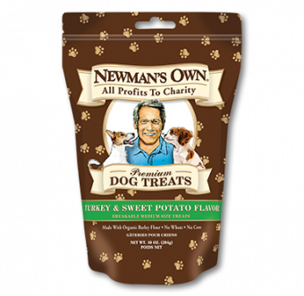 Newman's Owns Turkey & Sweet Potato Dog Treats