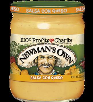 Newman's Own Medium Salsa Con Queso