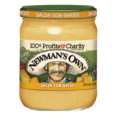 Newman's Own Medium Salsa Con Queso