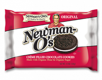 Newman's Own Original Creme Filled Chocolate Cookies