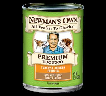 Newman's Own Turkey & Chicken Formula Dog