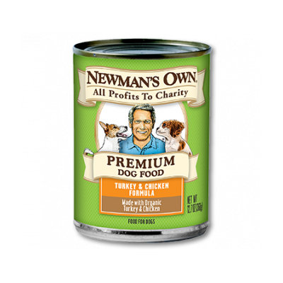 Newman's Own Turkey & Chicken Formula Dog