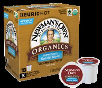 Newman's Own Organics Newman's Special Blend Medium Roast K-Cup Coffee