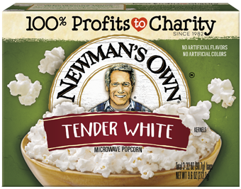 Newma's Own Tender White Microwave Popcorn