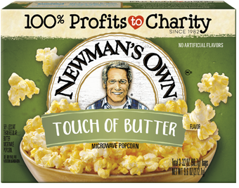Newman's Own Touch Of Butter Microwave Popcorn