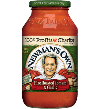Newman's Own Fire Roasted Tomato & Garlic Pasta Sauce