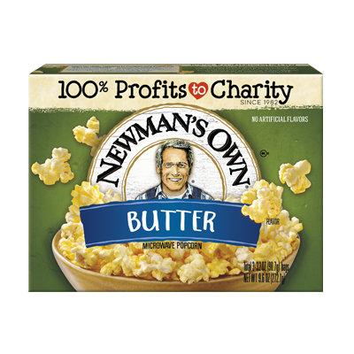 Newman's Own Microwave Butter Popcorn