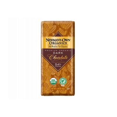 Newman's Own Organic Premium Chocolate Bar Dark 54% Cocoa