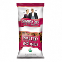 Newman's Own Organics Salted Pretzel Rounds