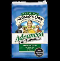 Newman's Own Organics Advanced Cat Formula