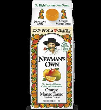 Newman's Own Orange Mango Tango Fruit Juice Cocktail