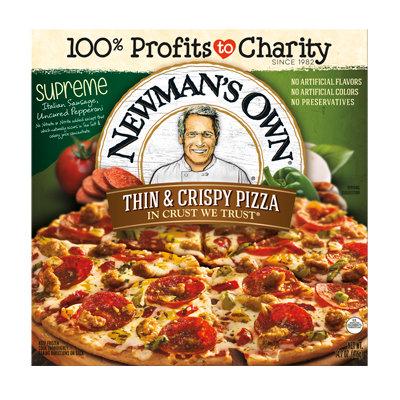 Newman's Own All Natural Thin & Crispy Supreme Pizza
