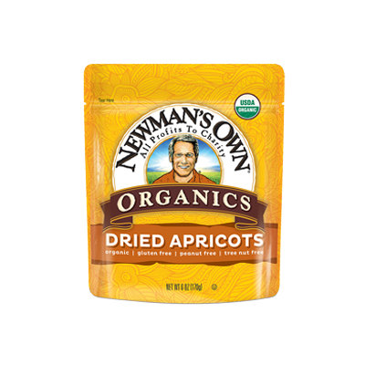 Newman's Own Organics Dried Fruit Apricots