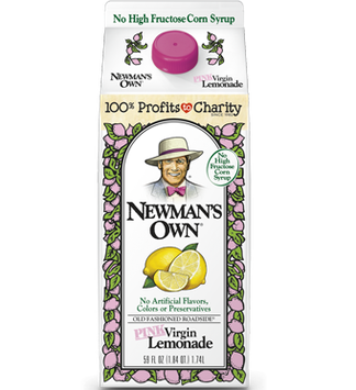 Newman's Own All Natural Pink Virgin Lemonade