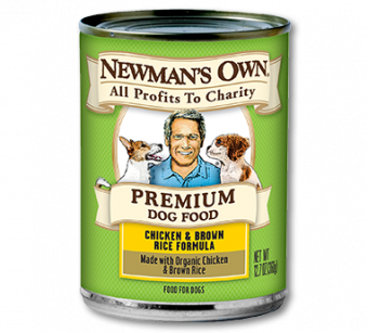 Newman's Own Chicken & Brown Rice Canned Dog Food