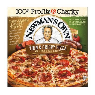 Newman's Own Italian Sausage & Uncured Pepperoni Thin & Crispy Pizza