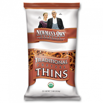 Newman's Own Organics Traditional Thin Pretzels