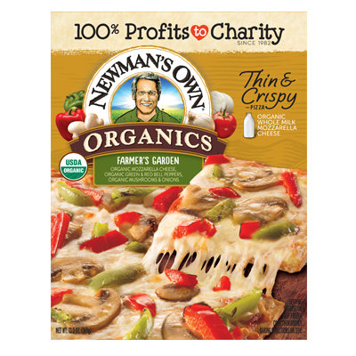 Newman's Own Organic Farmer's Garden Thin & Crispy Pizza