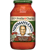 Newman's Own Marinara with Mushrooms Pasta Sauce