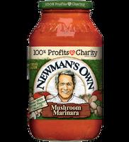 Newman's Own Marinara with Mushrooms Pasta Sauce