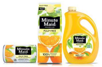 Minute Maid® Pulp Free Orange Juice