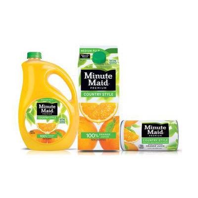 Minute Maid® Country Style Orange Juice