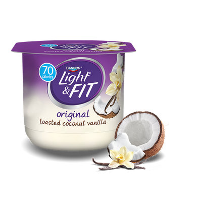 Light & Fit® Toasted Coconut Vanilla Nonfat Yogurt