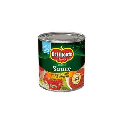 Del Monte® Tomato Sauce with the Flavors of Basil, Garlic & Oregano
