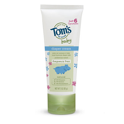 Tom's OF MAINE Fragrance Free Baby Diaper Cream