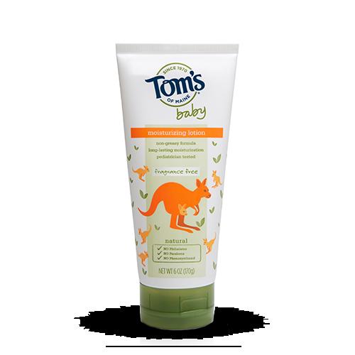 Tom's OF MAINE Fragrance Free Baby Moisturizing Lotion