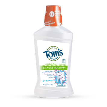 Tom's OF MAINE Juicy Mint Children's Anticavity Fluoride Rinse