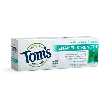 Tom's of Maine Enamel Strength® Natural Toothpaste Peppermint