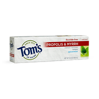 Tom's OF MAINE Spearmint Fluoride-Free Propolis & Myrrh Toothpaste
