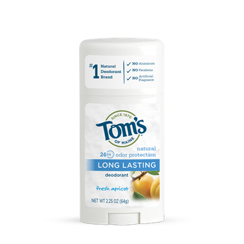 Tom's OF MAINE ANTIPERSPIRANT & DEODORANT Fresh Apricot Long Lasting Deodorant