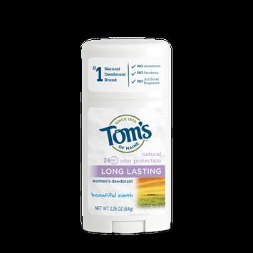 Tom's of Maine  Beautiful Earth Long Lasting Deodorant