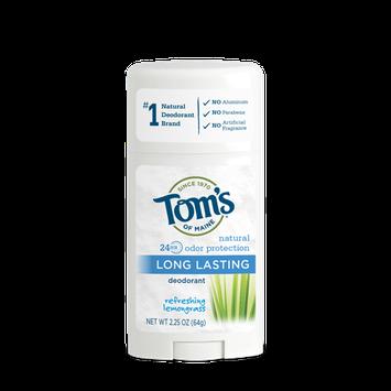 Tom's of Maine Refreshing Lemongrass Long Lasting Deodorant