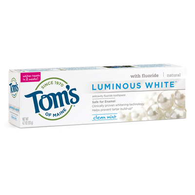 Tom's OF MAINE Clean Mint Luminous White® Toothpaste